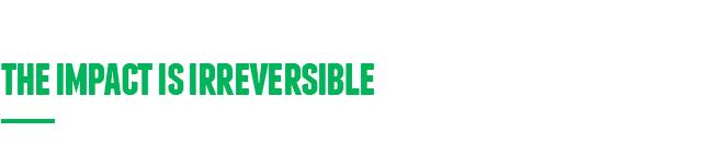 irreversable